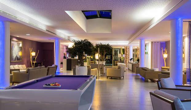 Chateau des Tourelles Hotel Thalasso Spa Baie de La Baule - lobby