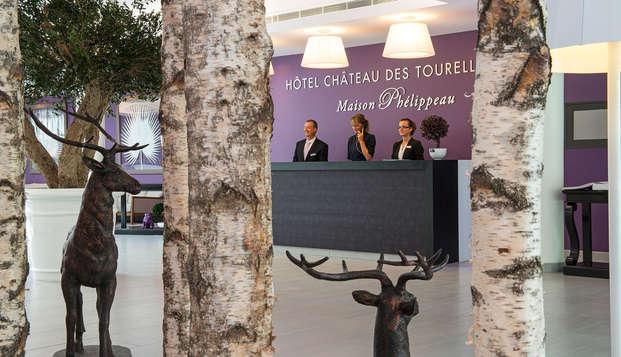 Chateau des Tourelles Hotel Thalasso Spa Baie de La Baule - -reception