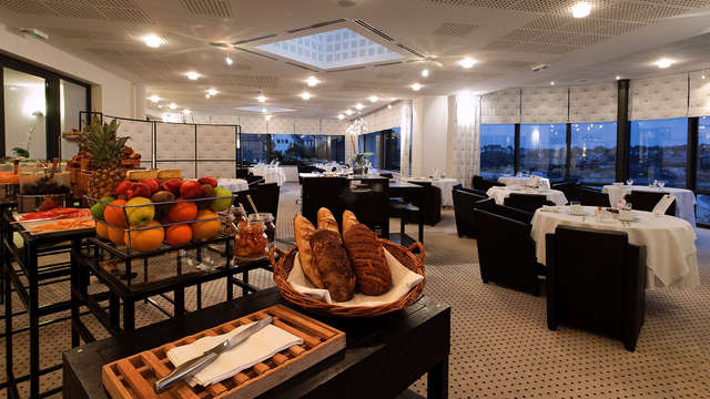 L Agapa Hotel Spa Nuxe - EDIOT breakfast