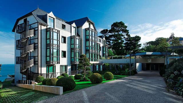 Détente et luxe dans un hôtel 5* à Perros-Guirec, accès spa nuxe inclus !
