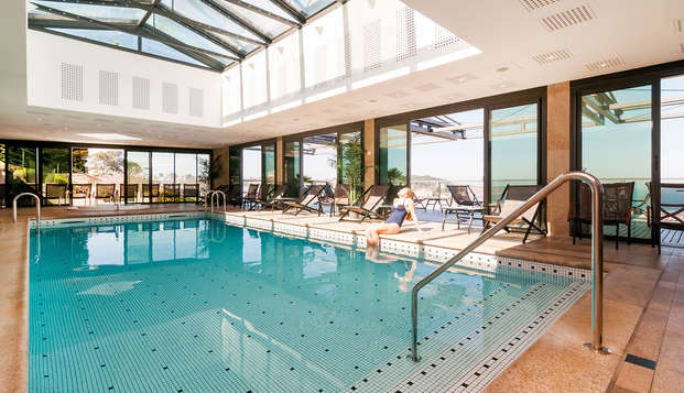 Week-end bien-être avec modelage et accès au spa Nuxe de l'hôtel à Perros-Guirec