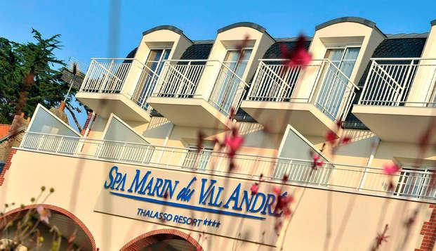 Spa Marin du Val Andre Thalasso Resort - front