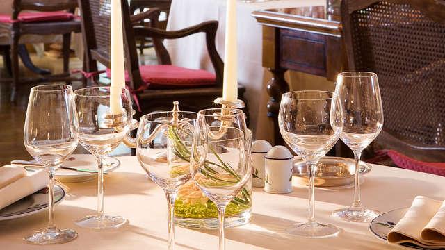 Week-end bien être et dîner sur la Route des Vins