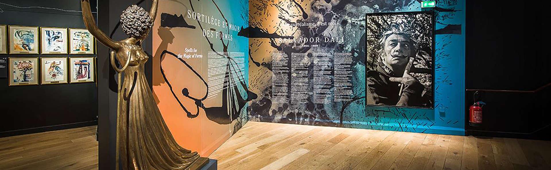 Séjour 4* au cœur de Paris avec visite de l'Espace Dali