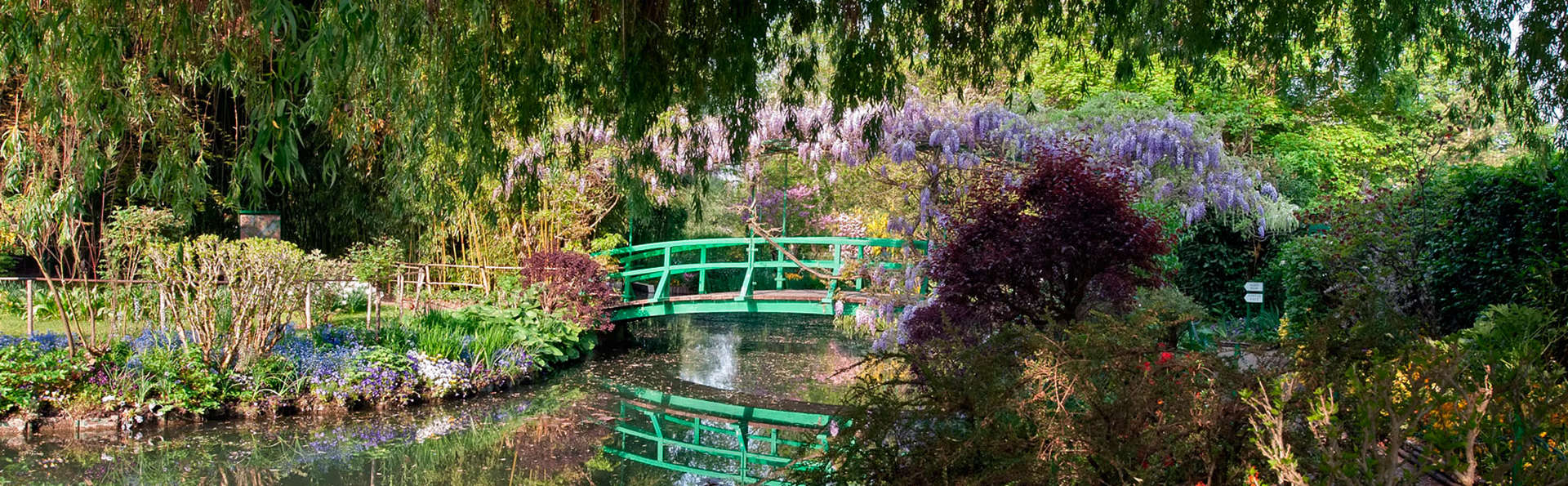 week end culturel giverny avec 1 visite de la maison de claude monet et de son jardin pour 2. Black Bedroom Furniture Sets. Home Design Ideas