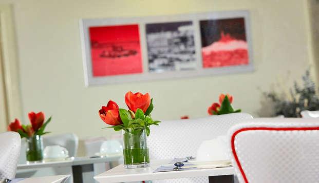 Hotel Kyriad Marseille Centre Paradis-Prefecture - restaurante