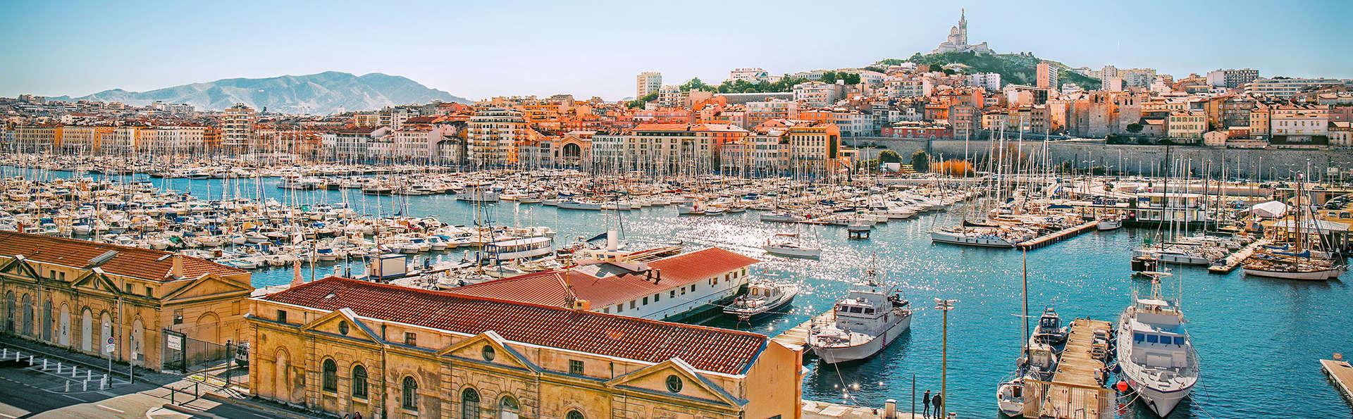 Escapade en plein coeur de Marseille (à partir de 2 nuits)