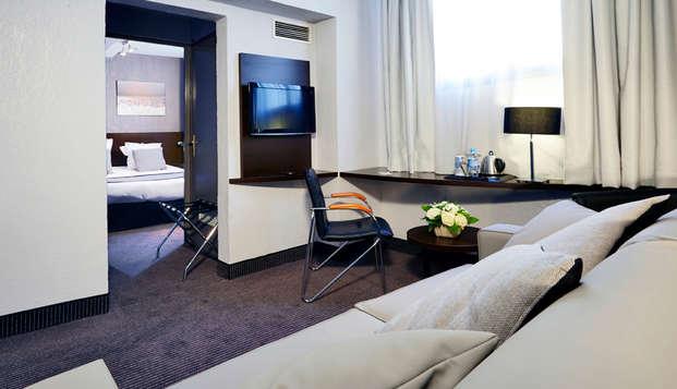 Hotel Kyriad Marseille Centre Paradis-Prefecture - suite