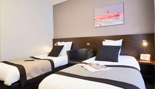 Hotel Kyriad Marseille Centre Paradis-Prefecture - twin