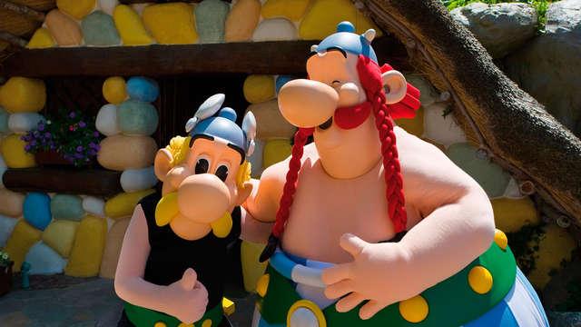 Divertissement dans le monde du Parc Asterix