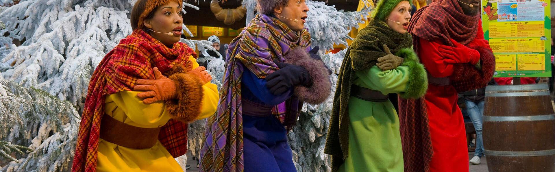 Expérience gauloise de fin d'année avec entrée au Parc Astérix