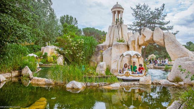 Week-end détente et découverte en couple ou en famille avec entrée au Parc Astérix