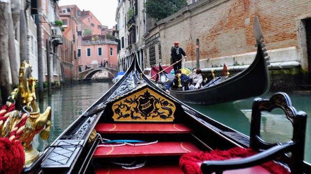 Week-end avec tour en gondole, dans un hôtel situé dans le centre de Venise