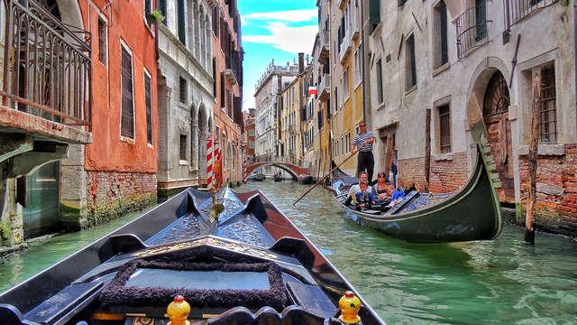 Vacances de rêve au cœur de Venise : dans un hôtel 4* avec une visite romantique en gondole
