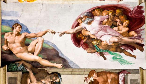 Visitez la Chapelle Sixtine et dormez au centre de Rome : offre parfaite pour un week-end découverte