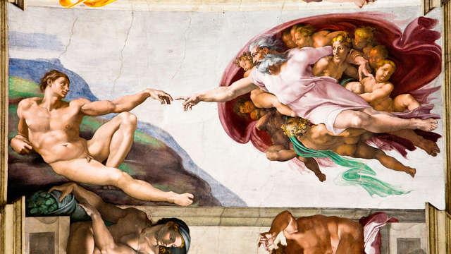 Visita la Cappella Sistina e dormi in un bellissimo palazzo alle porte di Roma!