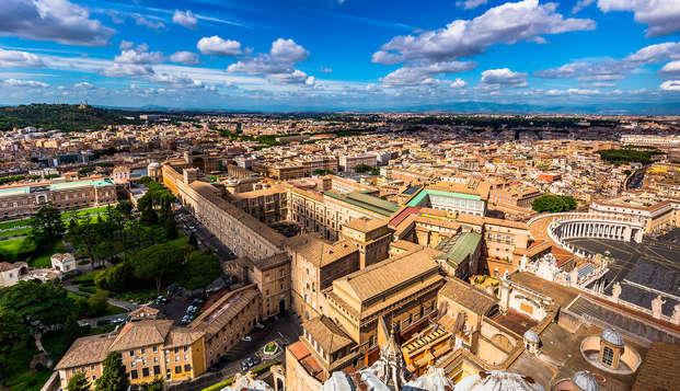 Séjour près de la Piazza Navona avec entrées pour les musées du Vatican et la Chapelle Sixtine !
