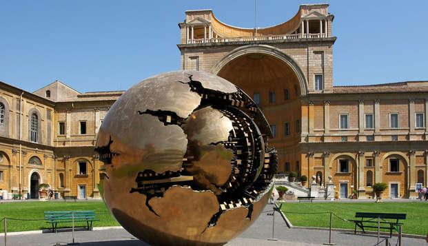 Roma e Cappella Sistina: visita il Vaticano e dormi in un parco subito fuori la Capitale