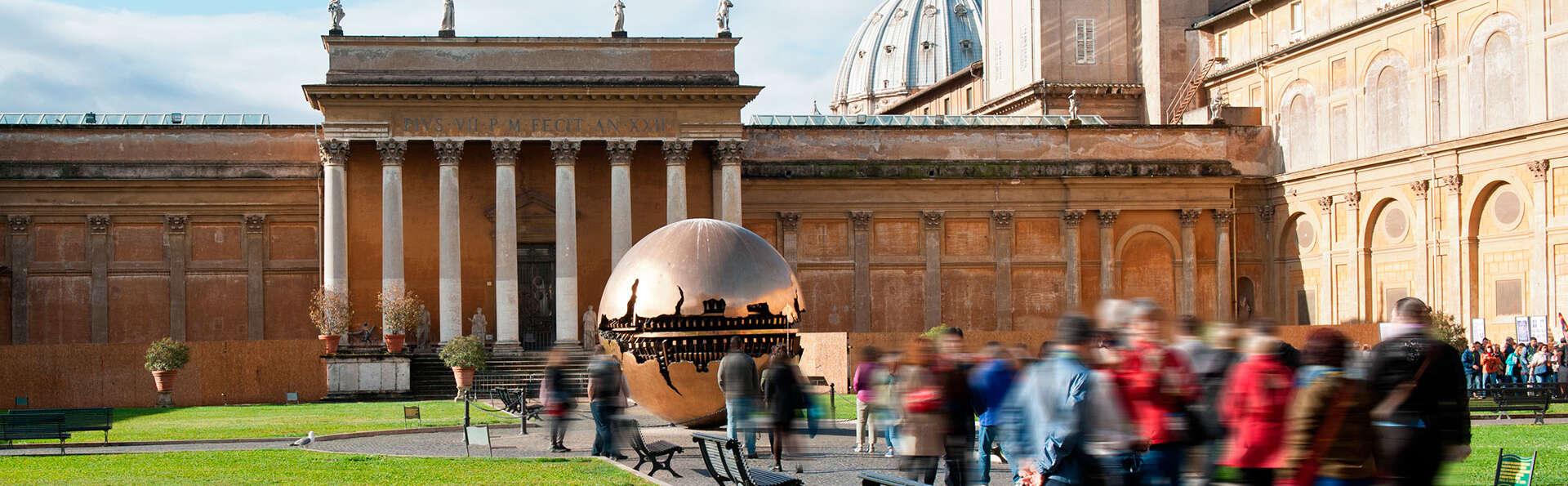 Découvrez Rome aux portes du centre ville et visitez les musées du Vatican et la Chapelle Sixtine