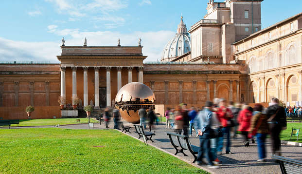 Scoprite Roma: soggiorno alle porte del centro e visita dei Musei Vaticani e della Cappella Sistina