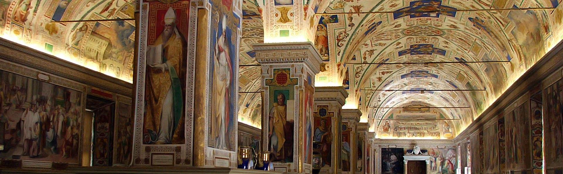 Visite de la Chapelle Sixtine et nuit dans un bel hôtel en périphérie de Rome