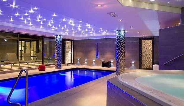 Week-end de bien-être au lac de Genval avec bain à remous dans la chambre