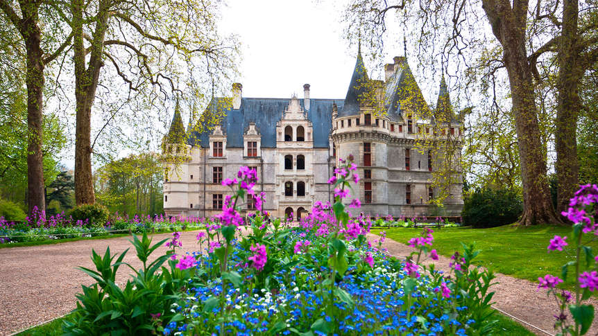 Week end châteaux Azay le Rideau avec 1 Visite du Château d\'Azay-le ...