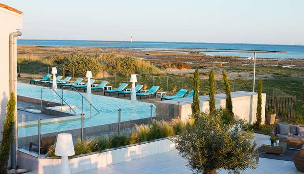 Relais Thalasso Ile de Re - Hotel Atalante - terras view