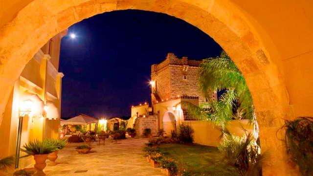 Deliciosa cena y acceso a spa en Apulia