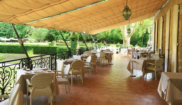 Le Moulin de Vernegues Hotel et Spa Les Collectionneurs - terrace