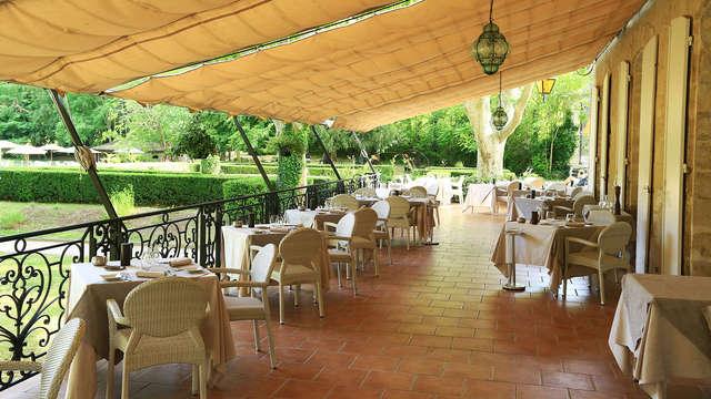Saveurs et détente dans une bastide provençale