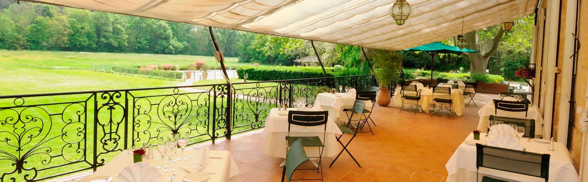 Romance et dîner au coeur de la Provence