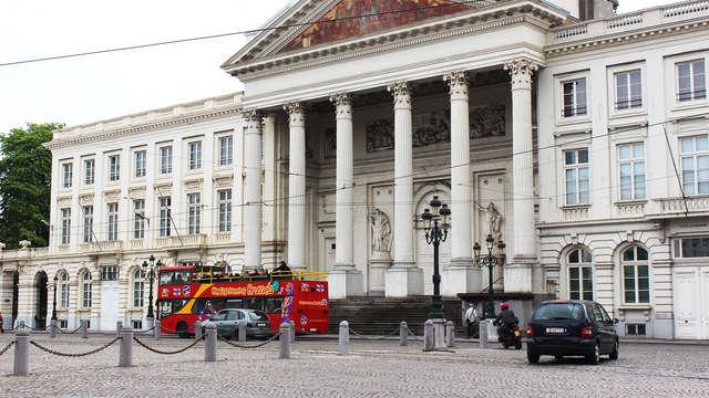 Citytrip met toeristische bustour langs bezienswaardigheden in Brussel