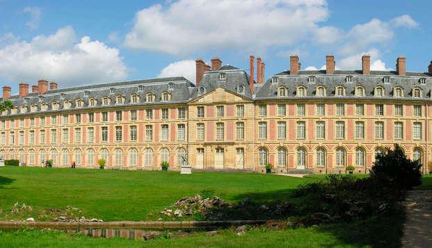 Visita el fantástico castillo de Fontainebleau