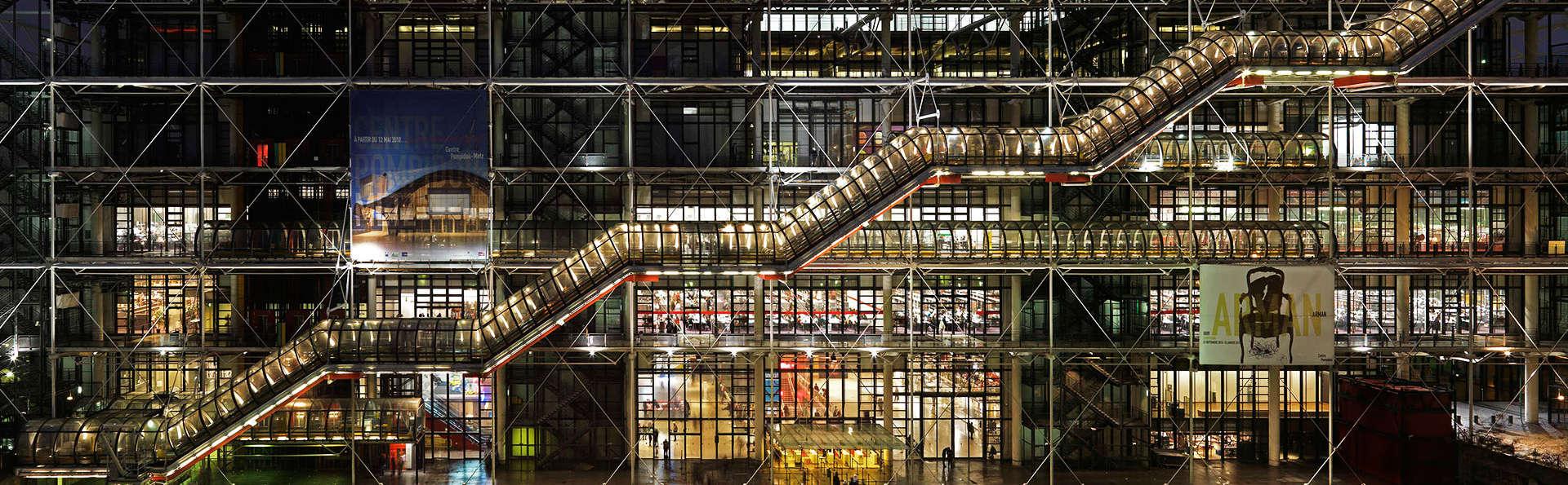 Week-end dans le quartier du Marais avec entrée au Centre Pompidou (A partir de 2 nuits)