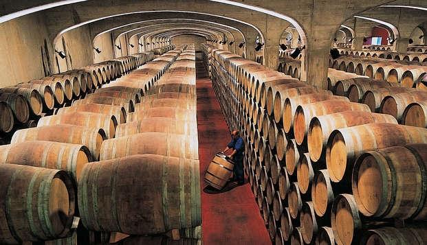 Cata de vino en las bodegas Marqués de Cáceres y alojamiento cerca de Haro