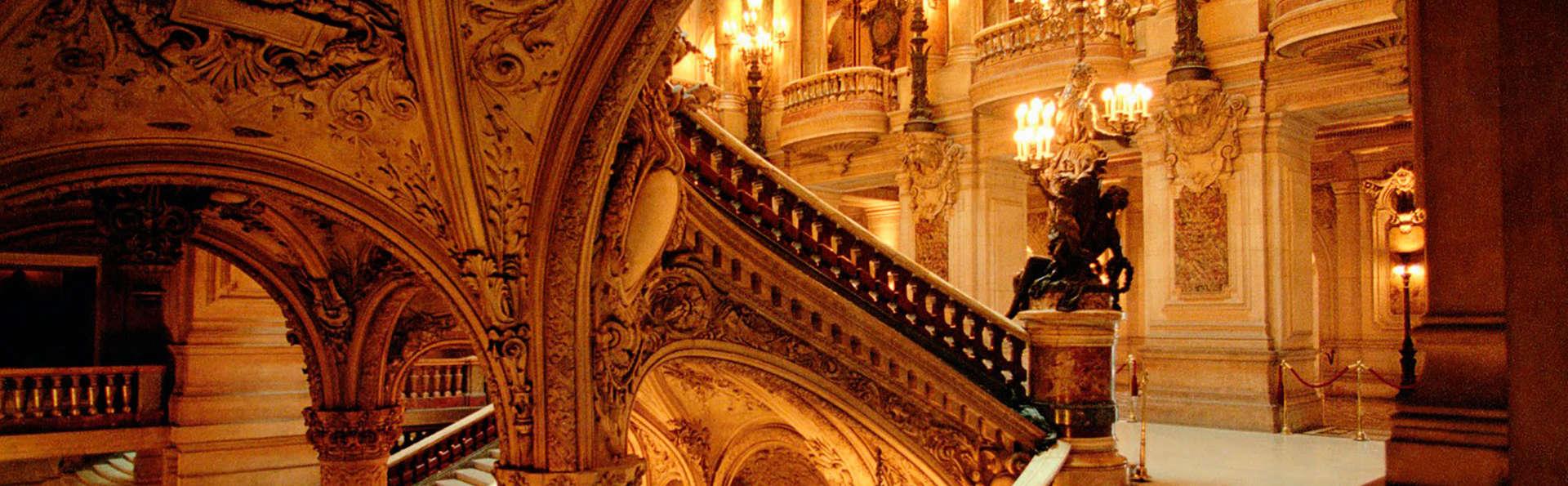 Week-end découverte à Paris avec visite guidée de l'Opéra Garnier
