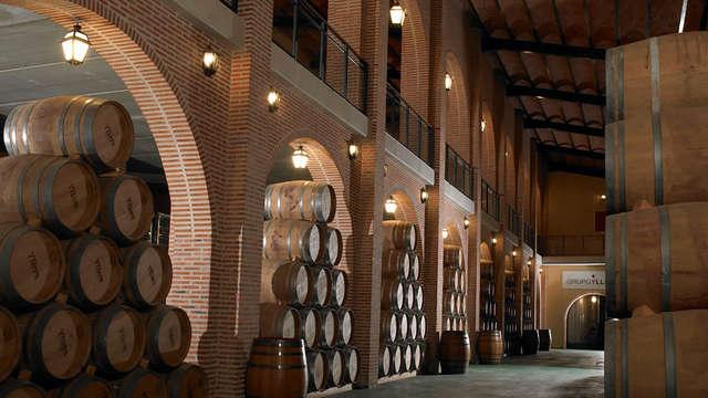 Escapada con Visita a bodega y cata de vino cerca de Valladolid