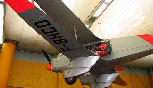 Relax y entrada al Museo del Aire y del Espacio