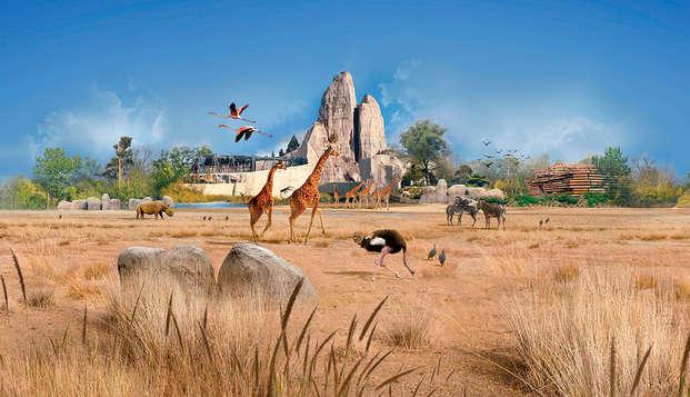 Escapada en familia con entrada al parque zoológico de París