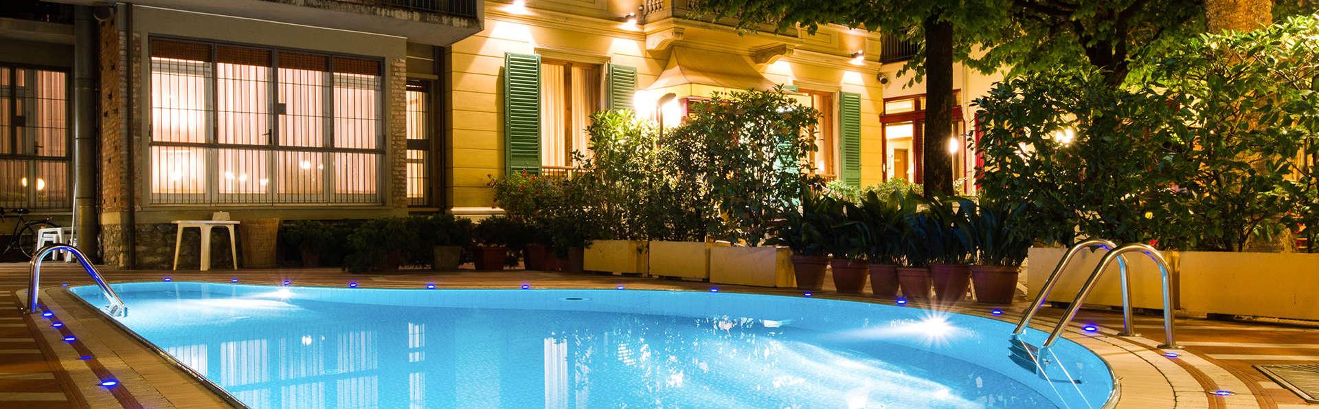 Bien-être dans un hôtel avec piscine et jacuzzi au cœur de Montecani Terme (non remboursable)
