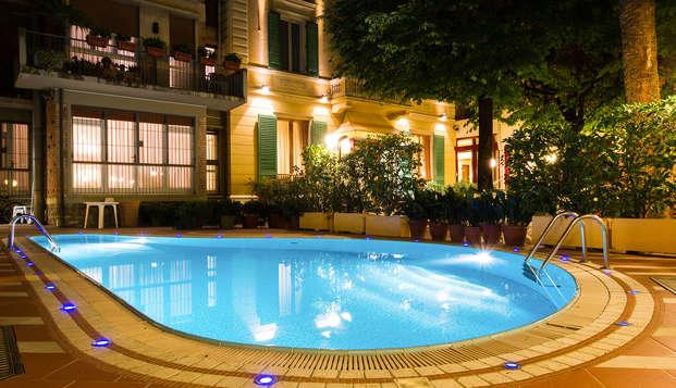 Lujo con piscina e hidromasaje en el corazón de Montecatini Terme (No reembolsable)
