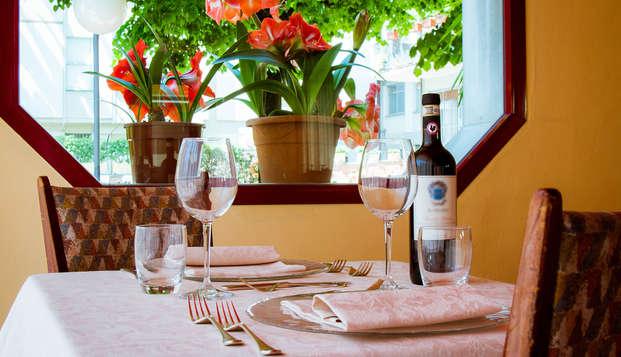 Romántica cena en el corazón de Montecatini Terme (desde 2 noches)