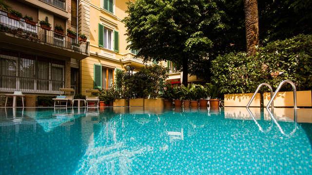 Relax con entrada a las piscinas termales y cena