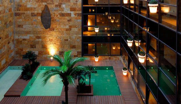 Escapada Romántica con circuito termal y gastronomía en Junior Suite en un hotel 4*