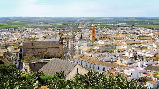 Escapade parfaite à Carmona : dégustation de tapas, verre de vin et parking inclus (àpd 2 nuits)