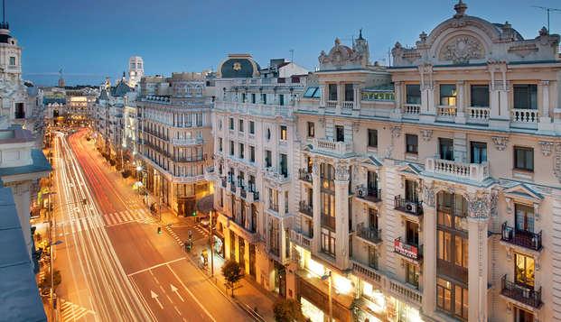 City trip à Madrid avec visite guidée de la ville et dîner dans le restaurant de votre choix