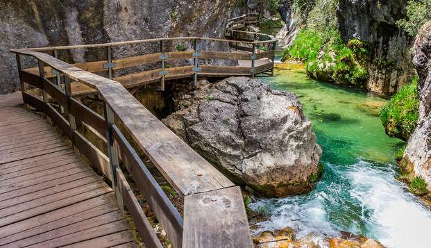 Escapada en el sendero de la Cerrada de Elías en plena Sierra de Cazorla