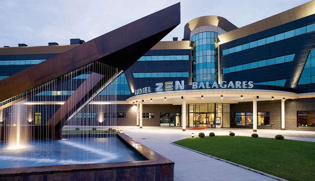 Lujo y Relax en Avilés con acceso a Spa y Fitness Center