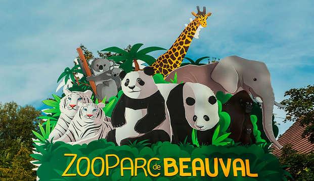 Confort 3* à Blois avec entrées au ZooParc de Beauval